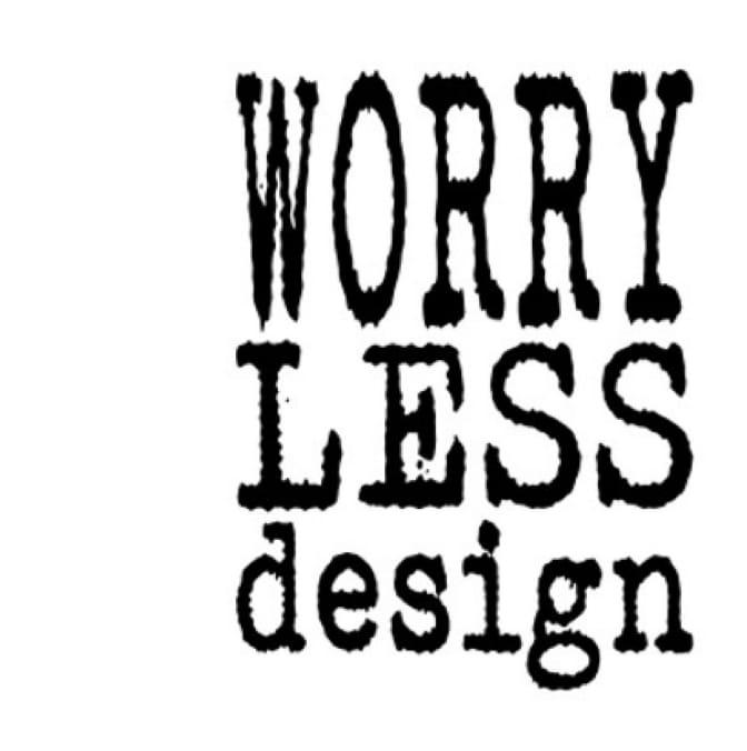 Worry Less Design logo