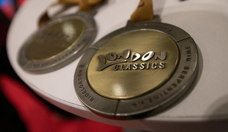 The London Classics medal