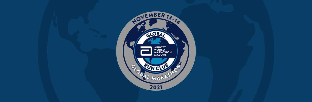 AbbottWMM GLOBAL MARATHON Logo