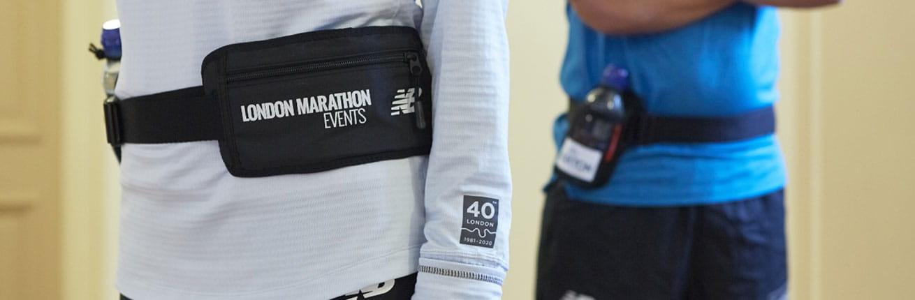 London Marathon Event bottle belts