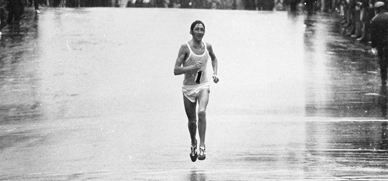 Commonwealth games gold medallist Boston Marathon winner Ron Hill
